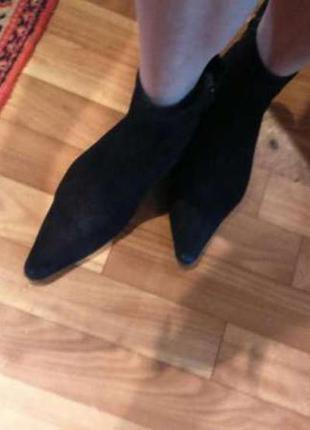 Замшевые туфли,ботинки,полуботинки,ботильоны демисезонные