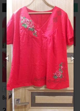 Блуза. вышиванка.