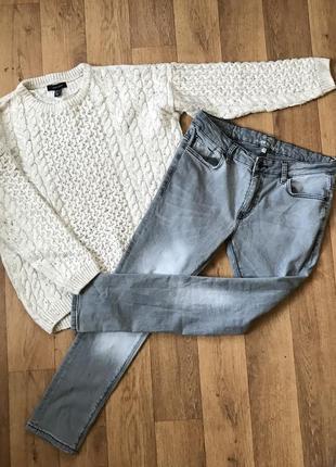 Свитер + джинсы l-xl