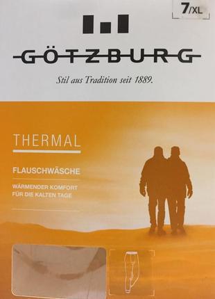 Термо кальсоны gotzburg 740581 джинс