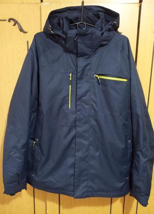 Горнолыжная куртка, лыжная, осень-зима, active l, хороший рост