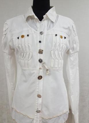 Elisa cavaletti гламурная блуза