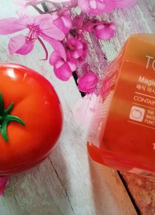 Осветляющая томатная маска tony moly tomatox magic massage pack