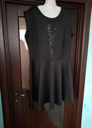 Стильне велике плаття в новому стані