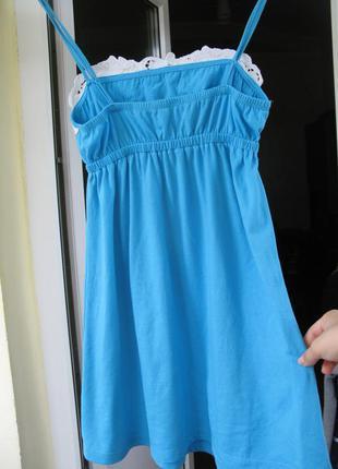 Короткое летнее платье для пляжа3