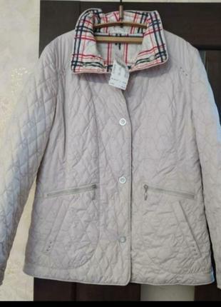 Классическая стеганая двухсторонняя куртка премиум класса