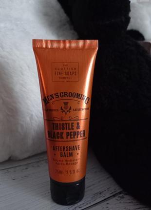 Scottish fine soaps men's grooming thistle & black pepper