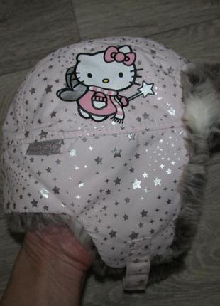 Теплая шапочка h&m 92/104 см на 1,5-4 года