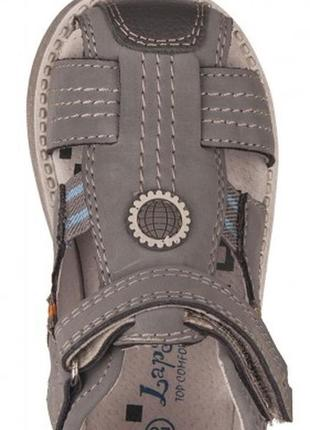 Новые ортопедические кожаные сандалии lapsi