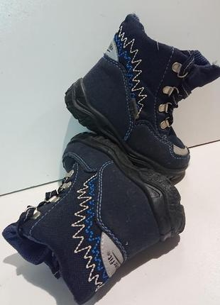 Детские фирменные ботинки super fit gore tex .
