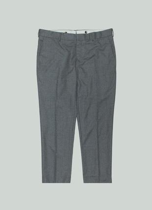 Шерстяные брюки caruso trouser isaia flannel brioni