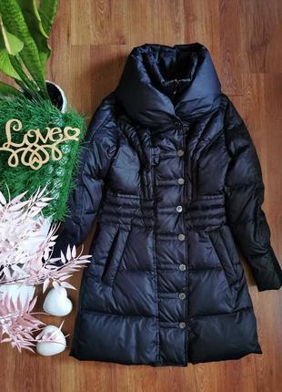 Пухове тепле міді пальто від бренду mexx🖤