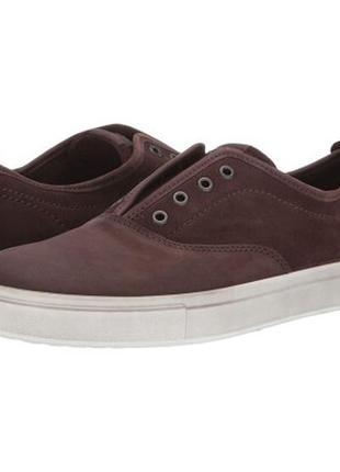 Сникерсы туфли слипоны кеды мокасины кожаные экко ecco men's kyle cvo sneaker оригинал