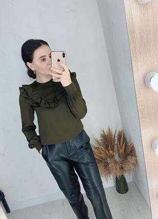 Блуза под атлас от h&m