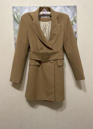 Блейзер пиджак - платье от zara