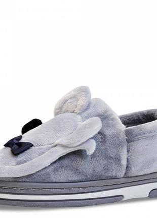 Детские тапочки mouse серые. 14,5 см