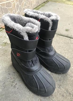Зимние сапоги сноубутсы campri uk 35,5  (р.36) по стельке 22,5 см