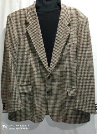 Шерстяной  винтажный пиджак израиль