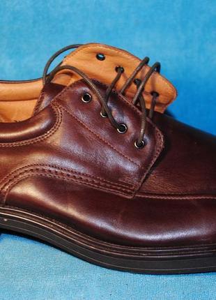 Bass softwear туфли кожа 47 размер