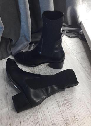 Ботинки с чулком tommy hilfiger