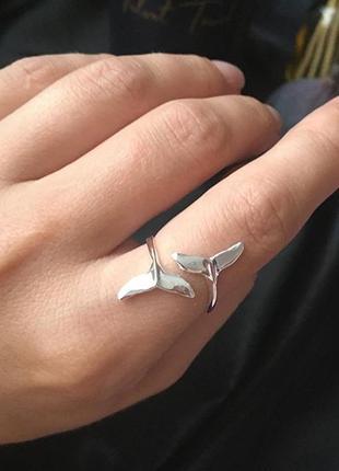 Кольцо «хвост кита»🐳🐳