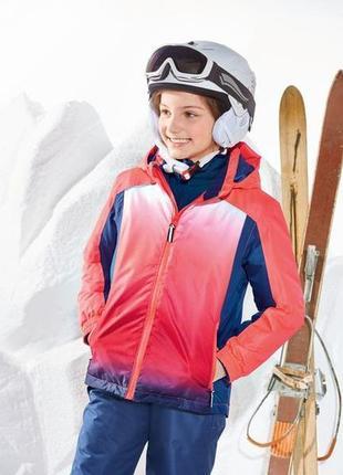 Куртка, зимняя, мембранная, лыжная, детская, crivit, размер 134/140