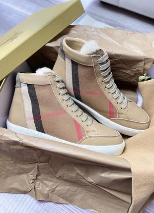 Высокие кеды ботинки