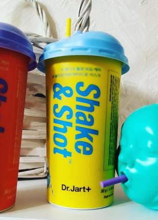 Альгинатные маски dr. jart+ shake & shot
