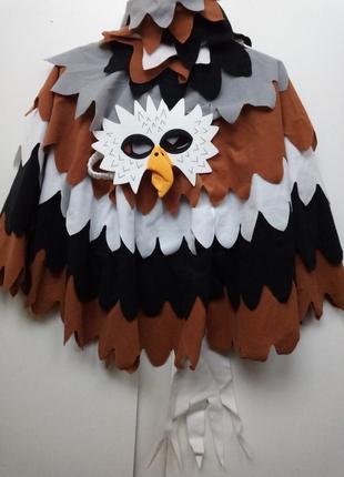 Костюм птицы орла маскарадный прикольный оригинальный с маской на хэллоуин