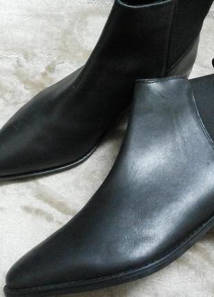 Ботинки ,сапоги-челси женские кожаные демисезонные asos индии