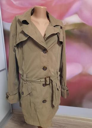 Осенняя куртка, тренч