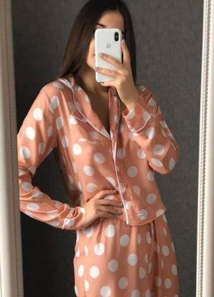 Нежная пижама из вискозы