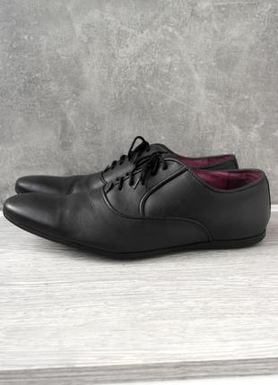 """Стильные фирменные кожаные туфли """"jimmy bee"""" в спортивном стиле. размер uk11/ eur 45."""