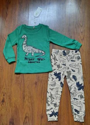 Пижама детская хлопок р.100 см, 110 см