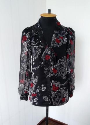 Красивая блуза с длинным рукавом monsoon