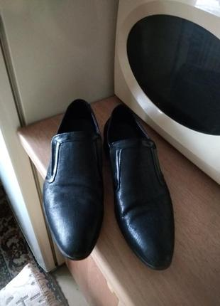 Туфли кожа 40р.250грн.