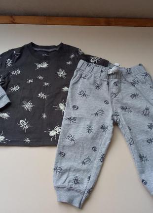 Комплект штани і реглан carter's 18міс.