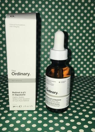 The ordinary - retinol 0,5% in squalane