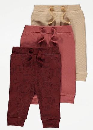 Спортивні штани george 3-6, 9-12 та 12-18 місяців