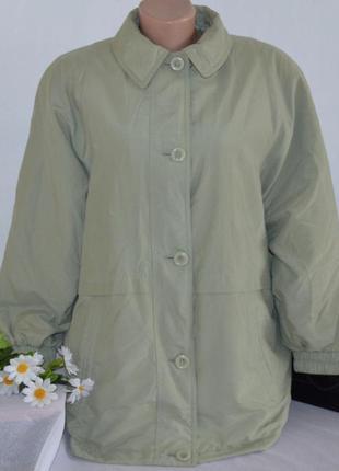 Брендовая демисезонная утепленная легкая куртка с карманами marks&spencer шри ланка