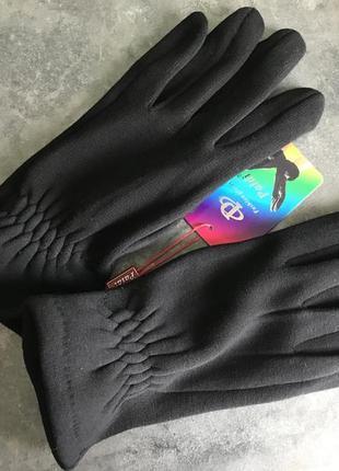 Чорні чоловічі рукавиці
