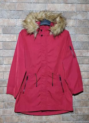Zara kids оригинал куртка курточка плащ дождевик размер на 10 лет рост 140см осень весна