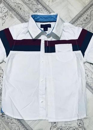 Шикарная рубашка tommy hilfiger
