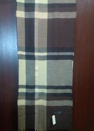 Мягкий кашемировый шарф 100% кашемир