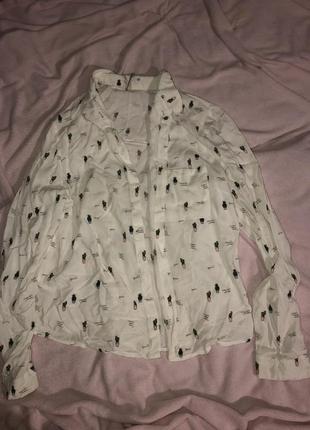 Милая рубашка bershka