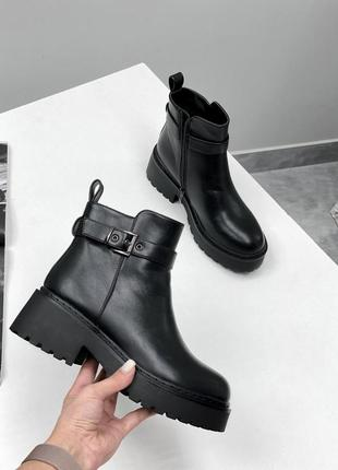 Ботинки зима мех