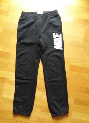 Спортивные утепленные флисом штаны nike s оригинал