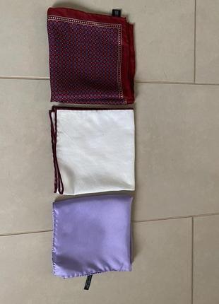 Платки пашэ в наборе brunello cucinelli