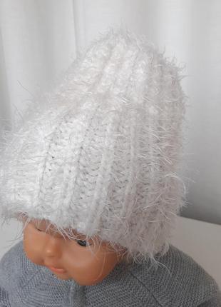 Шапка на девочку 3-7 лет шапочка