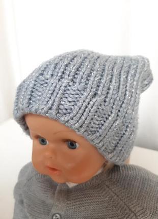 Шапка на девочку 2-5 лет шапочка